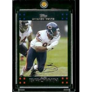 2007 Topps Football # 252 Alex Brown   Chicago Bears   NFL