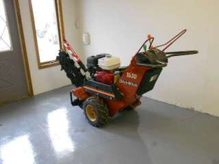 2007 Ditch Witch 1030 Walk Behind Personell Trencher New Honda GX340