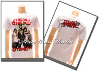 Avenged sevenfold A7X Rider Rock Punk Men T shirt Sz XL