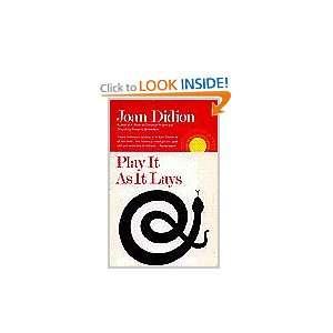 lays, a novel (A ouchsone book) (9780671248468) Joan Didion Books