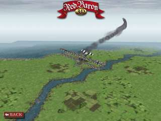 Red Baron 3D 3 D PC classic WWI dogfighting flight game
