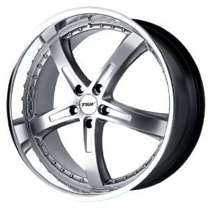 TSW Alloy Wheels Jarama Hyper Silver Machined Wheel (17x8