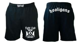 Shorts Hooligans. Fight Club. MMA. ACAB.Training. Bad Boy. UFC. Kick