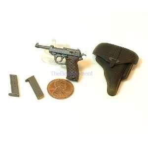 Gun P38 Dragon WWII German Walther Pistol + holster Gun 1