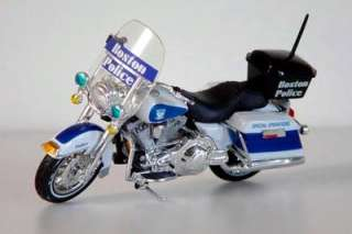 HARLEY DAVIDSON   BOSTON POLICE DEPT  SPECIAL OPS MOTORCYCLE   MAISTO