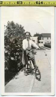 BICYCLE photo / Boy Riding Supa Cool Chopper Neck Bike   Biker Dude