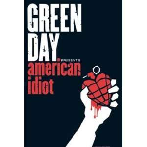 Green Day American Idiot Punk Rock Music Poster 24 x 36