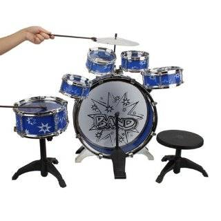 New Child Kid Toy Kids Big Band Drum Set Toy Drum Red
