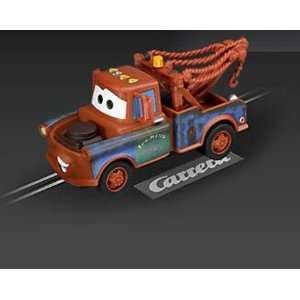 Carrera GO 1/43 Analog Slot Cars   Disney Cars Mater