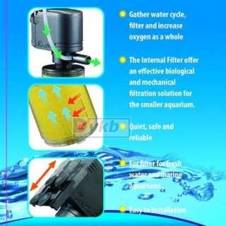 1000L/h Aquarium Submerse Air Water Pump + Bio Filter