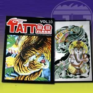 Rare Tattoo Flash Magazine Art Sketch Book TAOTU VOL.10