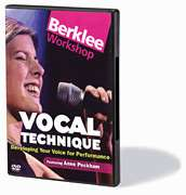 Vocal Technique Singing Voice Lessons Berklee Video DVD