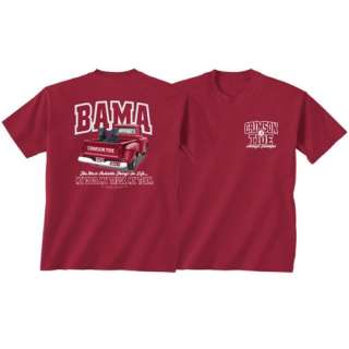 Alabama Crimson Football Tide T Shirts   My Dog   My Truck   My Team