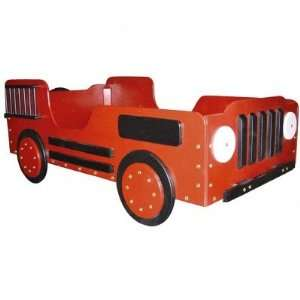 Just Kids Stuff Fire Truck Toddler Bed: Baby