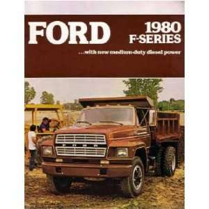 1980 FORD MEDIUM DUTY TRUCK Sales Brochure Literature