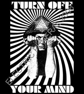 ALEISTER CROWLEY t shirt Electric Wizard OCCULT doom