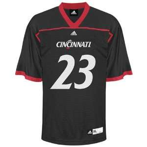 Cincinnati Bearcats Football Jersey adidas #23 Black Replica Football