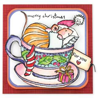 Penny Black Clear Stamps CHRISTMAS FRIENDS 30 084 Holiday 2011