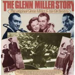 GLENN MILLER STORY LP (VINYL) GERMAN BIG BAND ERA 1985 GLENN