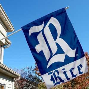 Rice Owls R University College House Flag Sports