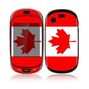 Canadian Flag Design Decorative Skin Cover Decal Sticker for Samsung