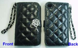 Protective Phone Leather Case Cover (amante+black) Wallet