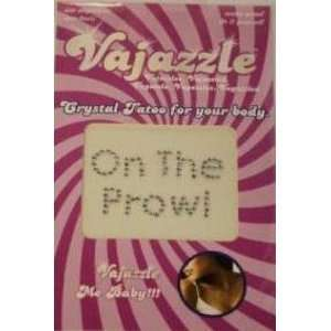 Bundle Vajazzle On The Prowl and 2 pack of Pink Silicone Lubricant 3.3