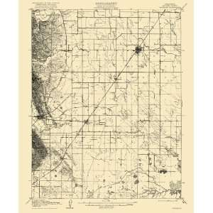 USGS TOPO MAP VACAVILLE QUAD CALIFORNIA (CA) 1908
