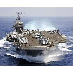 USS Carl Vinson Aircraft Carrier CVN 70 8x10 Silver Halide