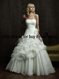Black White Bridal Gown Prom Ball Deb Wedding Dress