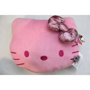Hello Kitty Pink Cushion Car / Office / Home   Pink Face