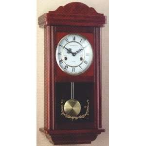 Wall Clock Wood 31 Day Wind Up Movement: Home & Kitchen