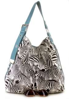 Pink Zebra Animal Print Designer Inspired Handbag Bag