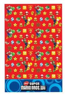 Birthday Party Supplies Super Mario Tablecover