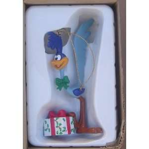 Road Runner Looney Tunes Hard Plastic Christmas Ornament From 1990 91