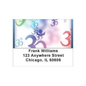 Sacred Aum Symbol Address Labels: Office Products