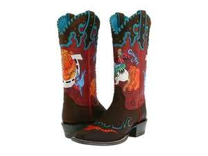 NIB Womens Ariat 10008770 Western Bronco Billie Cowboy Boots