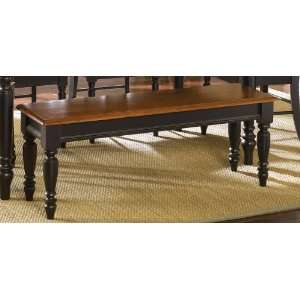 Liberty Low Country Dining Black Bench   80 C9000B: Home