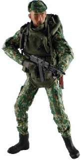 Armoury 1/6 Scale 12 Modern Soldier Action Figure Russian Paratrooper