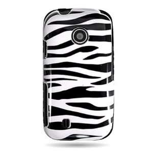 com WIRELESS CENTRAL Brand Hard Snap on Shield With WHITE BLACK ZEBRA
