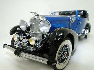 Rare Duesy Classic/Show Car1933 DUESENBERG J Victoria Franklin Mint 1