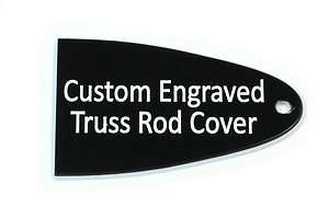Custom engraved Truss Rod Cover for Schecter Guitars