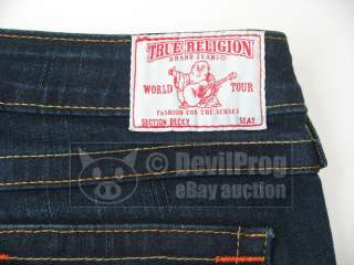 NWT TRUE RELIGION Jeans BECKY PETITE Bootcut Stretch LONESTAR Size 27