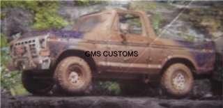 AMT/ERTL 1979 Bronco TRUCK kit Reproduction Wild Hoss