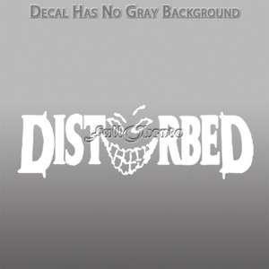 Disturbed Decal Rock Band Car Truck Window Sticker