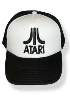 ATARI Logo Embroidered Cap 2600 Pong Jaguar Truck Hat