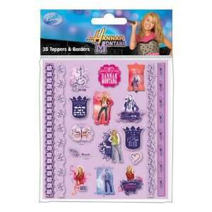 Pyramid International   Hannah Montana set stickers 3D