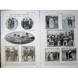 1907 Derby Horse Racing Sport Lord Ilchester Wilson Men