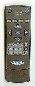Jensen Multi Zone Car Auto Remote Control