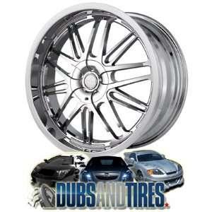 20 Inch 20x8.5 Touren wheels TR7 3170 Chrome wheels rims Automotive